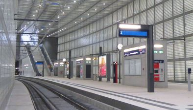 City-Tunnel and Main Station in Leipzig